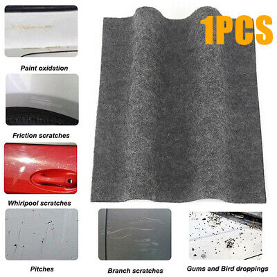 Gray Scratch Eraser Magic Car Scratch Repair Remover Cloth Surface Rag Simple