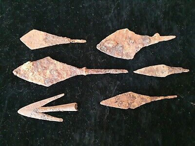 Nice iron spear-tips. 9th-13th century AD.4