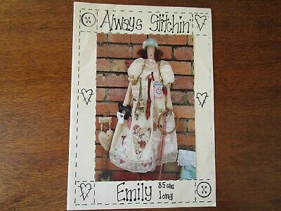 Always Stitchin Emily 85Cm Cloth Doll Pattern.