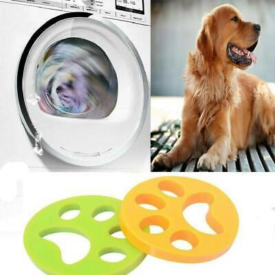 US Reusable Pet Hair Remover Brush Cat Lint Dog Fur for Laundry Washing Machine