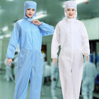 Reusable Coveralls Clothing Protective Safety Overalls Suit Full Protect S-10XL