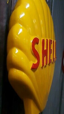 Shell clam - full size petrol bowser