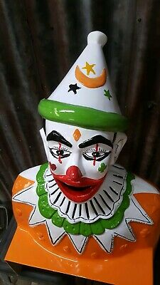 Carnival Clown - mancave stuff, collectable carnival
