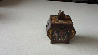 Charles Wysocki Purrfect Places Heirloom Porcelain Music Box Premiere Issue