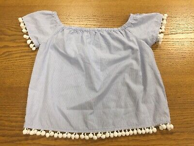 Girls Short Sleeved CANDY  Striped  Top *size 13 years *  VGC