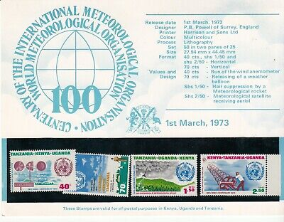 East Africa Presentation Packs = Stamps MNH