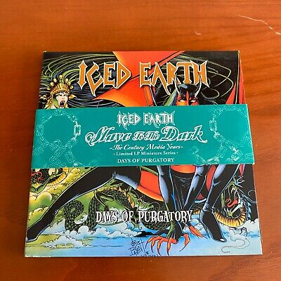 Iced Earth - Days Of Purgatory 2CD Digipack LP Miniature Limited