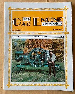 1980 GAS ENGINE MAGAZINE – Argyle Show - Iron Ox Of Taiwan - Caterpillar Color