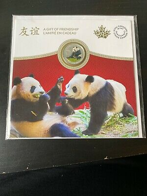 Crazy 8's Sale! 2018 Canada $8 .999 Silver Coin- Panda, A Gift Of Friendship