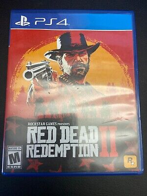Red Dead Redemption 2 (PlayStation PS4, 2018) Great Condition