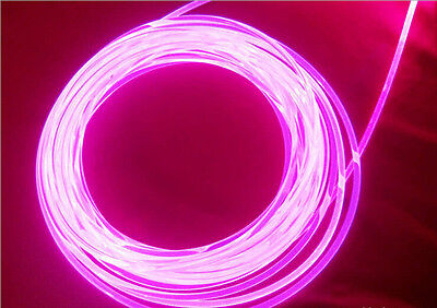 Fibre optic lighting cable side glow 4 mm outside diameter, flexible  /ISL4/