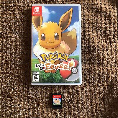 Nintendo Pokemon: Lets Go Eevee -  Nintendo Switch Tested Free Shipping In Box