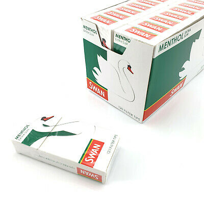 Swan Menthol Extra Slim Filters Fast Free Delivery Multiple Quantities Available