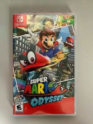 Super Mario Odyssey for the Nintendo Switch - Original Owner!