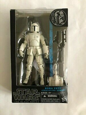 Star Wars Black Series Boba Fett Prototype Armor Figure 6 inch New Damaged Box