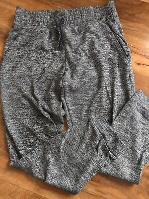Girls Next Marl Grey Thin Casual Tracksuit Jogger Type Trousers 7 Years