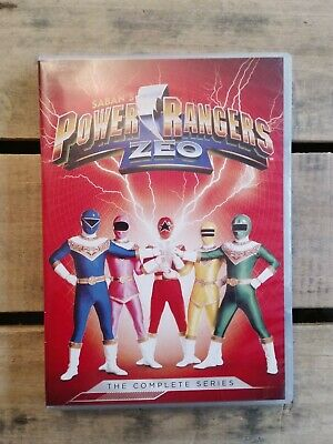POWER RANGERS ZEO The Complete Series (5 DVD Set) Superhero RARE OOP-NICE