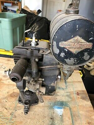 Vintage Briggs & Stratton 4-cycle air cooled engine