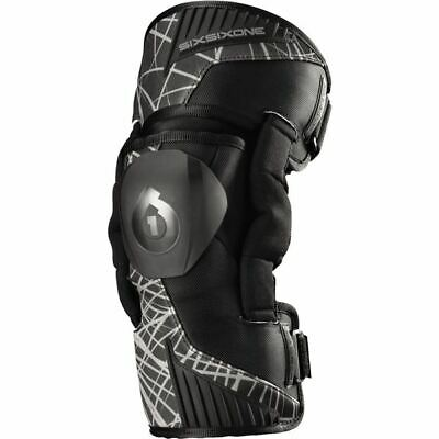 Black Sz M 661 Cyclone Wired Youth Knee Guard