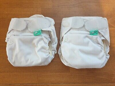 2 Totsbots Easyfit Star all in one Cloth nappies