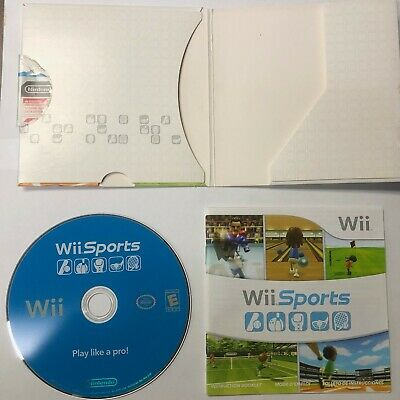 Wii Sports Nintendo Wii Video Game Bowling Golf Tennis Baseball Boxing COMPLETE!