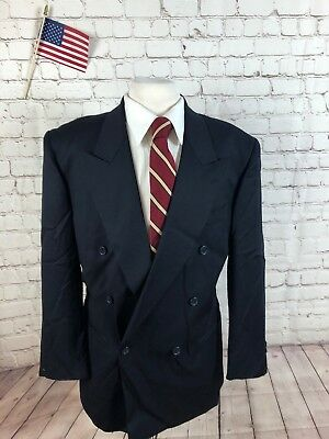 Vito Rufolo Men's Navy WOOL Blazer Sport Coat Suit Jacket 42R $695