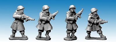 Artizan Designs - SWW354 - US ARMY INFANTRY IN GREATCOATS w SMG - Bolt Action