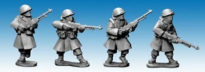 Artizan Designs - SWW353 - US ARMY INFANTRY IN GREATCOATS w BAR - Bolt Action