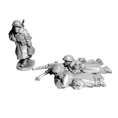 Artizan Designs - SWW356 - US INFANTRY IN GREATCOATS 30cal MMG Team Bolt Action