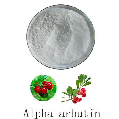 Alpha Arbutin Powder Pure Cosmetic Grade Skin Whitening for DIY Lotions ,Creams