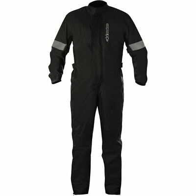 Alpinestars Hurricane Rain Suit - Black, All Sizes