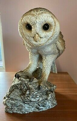 Stone Critters Large Barn Owl
