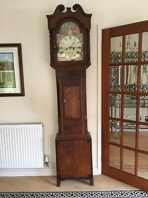 longcase grandfather clock good condition.