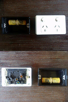 Power Point Stash Electrical Wall Outlet Diversion Safe Hidden Compartment Can
