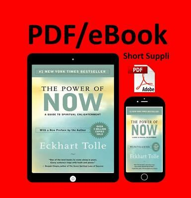 The Power of Now: A Guide to Spiritual Enlightenment by Eckhart Tolle... PDFWill
