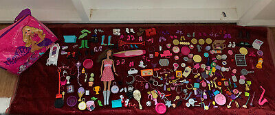 Doll Accessories Shoes Bags Tiaras Food Barbie Doll