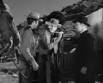Western TV Show RAWHIDE CLINT EASTWOOD ERIC FLEMING /& SHAB Glossy 8x10 Photo