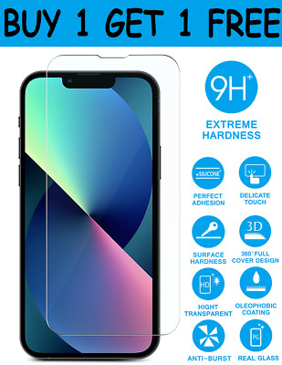 Tempered Glass Screen Protector For iPhone 11,11 Pro Max iPhone XR X XS Max