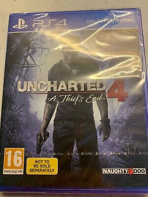 Uncharted 4: A Thief's End ( PS4) New 1st Class Delivery