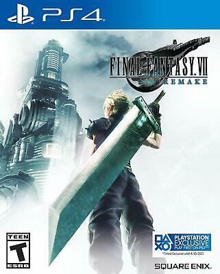 Final Fantasy VII Remake (Sony PlayStation 4) *Pre-Order Ships April 10*