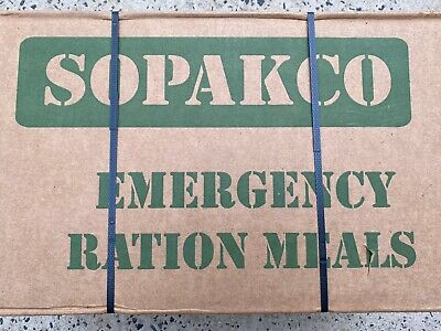 Sopakco Case of 14 MRE's Meals Ready To Eat