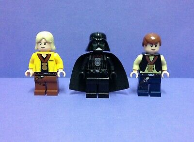 Lego Star Wars Minifigures Ceremonial Darth Vader Luke Han Medal Genuine Lego
