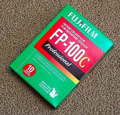 FujiFilm FP-100C 3.5x4.2 in Professional Instant Color Film exp 2014-01