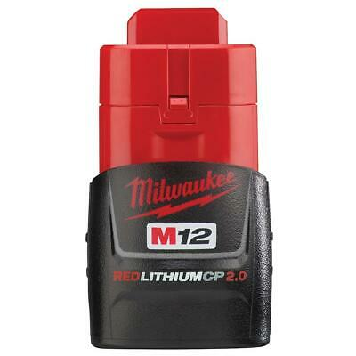 Milwaukee 48-11-2420 OEM M12 12-Volt Lithium-Ion 2.0 Ah Compact Battery