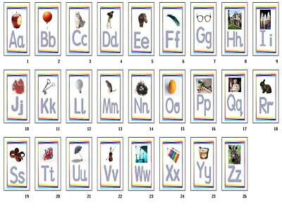 Eyfs Sen Home Learning  Photo Alphabet Letters Phonics Flashcards