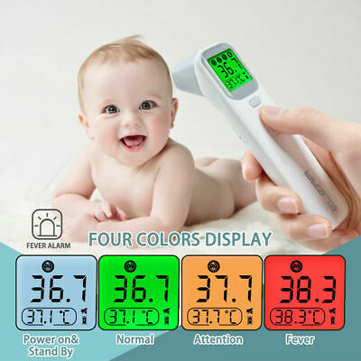 ELERA Baby Thermometer Infrared Digital LCD Body Measurement Forehead Ear