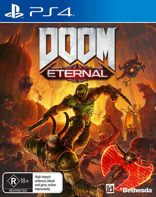 Doom Eternal PS4 Game NEW