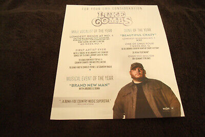 LUKE COMBS 2019 Grammy ad & KEITH URBAN and Special Friends at Bridgestone Arena