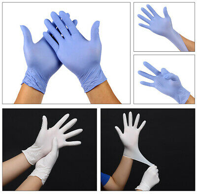 100X Disposable Rubbe Gloves For Home Cleaning Medical/Food/Rubber/Garden Gloves