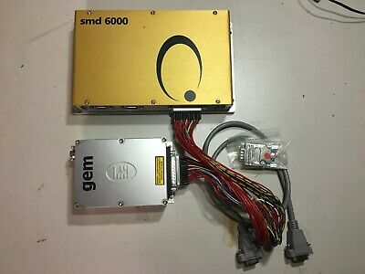 Laser Quantum Gem 532nm DPSS Fiber Coupled and SMD6000 Controller Fully Tested